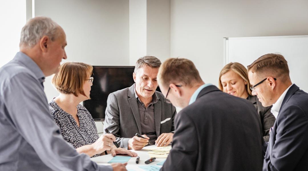 Change Management im Organisationsdesign-Prozess